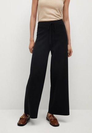 SOL - Spodnie materiałowe - noir
