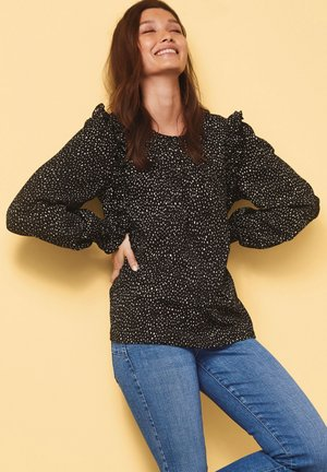 PINTUCK - Blouse - black