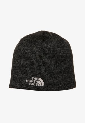 JIM BEANIE - Čepice - black heather