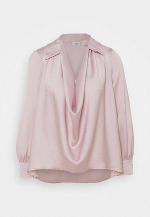 WRAP FRONT SHIRT - Blouse - pink light