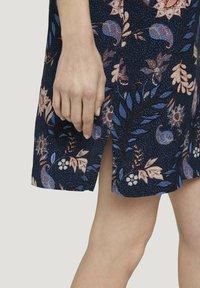 TOM TAILOR - Day dress - navy floral design - 3