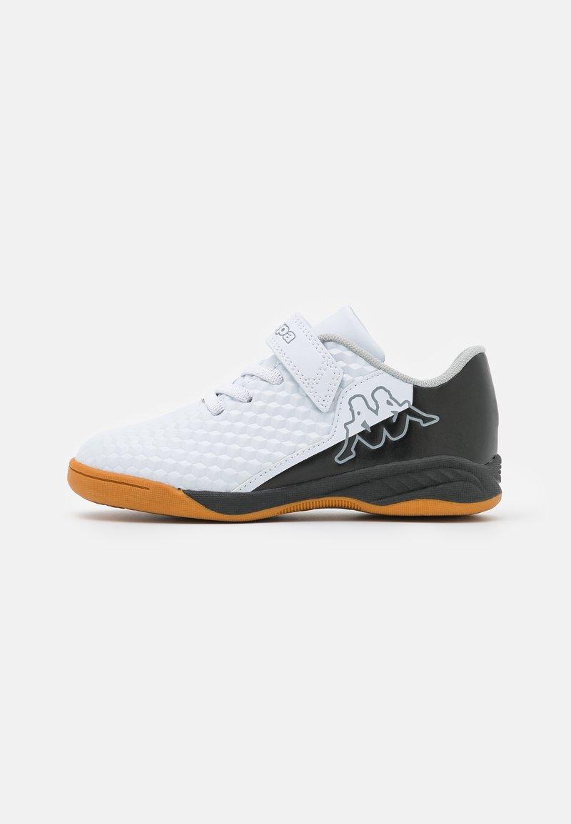 Kappa - AVERSA UNISEX - Sports shoes - white/black