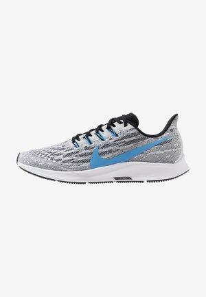 AIR ZOOM PEGASUS  - Stabilty running shoes - white/university blue/black/pure platinum/laser orange