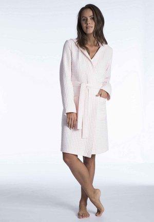 MIT KAPUZE - Dressing gown - light pink