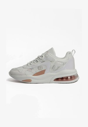 FEVER PRÄGUNG 4G LOGO PEONY LOGO - Sneakersy niskie - weiß