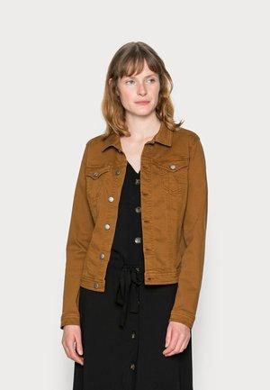 ERNA - Denim jacket - caramel