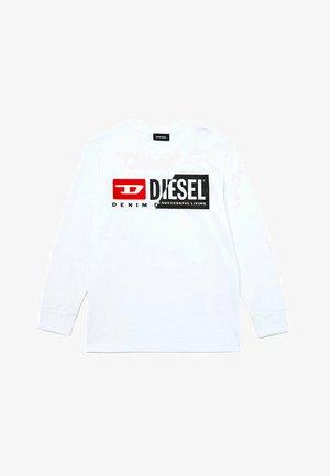 CON LOGO  - T-shirt print - bianco