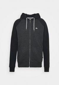 Quiksilver - EVERYDAY ZIP - Zip-up sweatshirt - dark grey heather - 4