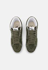 Vans - SK8-HI UNISEX - Sneakers hoog - olive/true white - 3