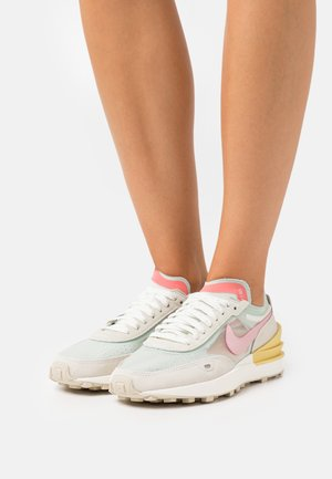 WAFFLE ONE - Sneakers laag - green/pink/yellow