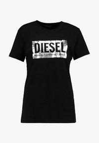 Diesel - T-FOIL - T-Shirt print - schwarz - 3