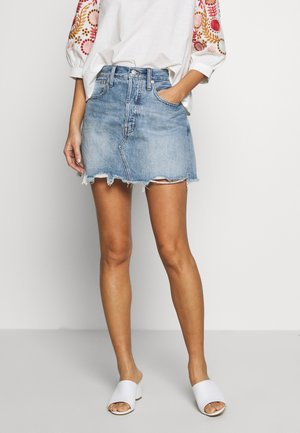 FRISCO IN ROSEHILL WASH - Denim skirt - light blue denim