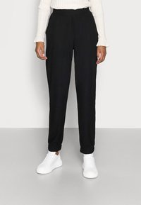 ONLY Petite - ONLNELLA PANTS - Tracksuit bottoms - black - 0