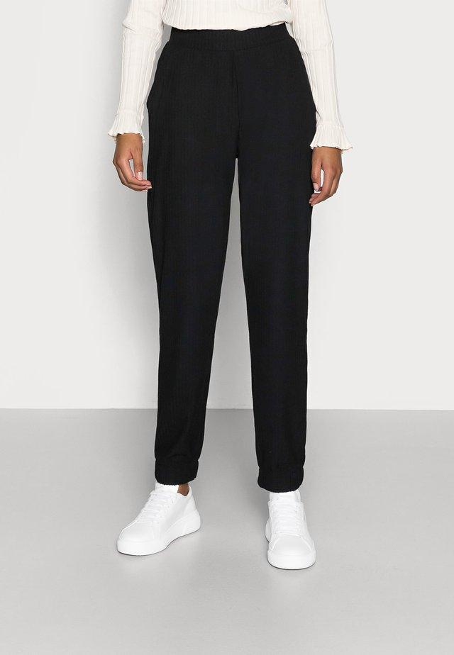 ONLNELLA PANTS - Tracksuit bottoms - black