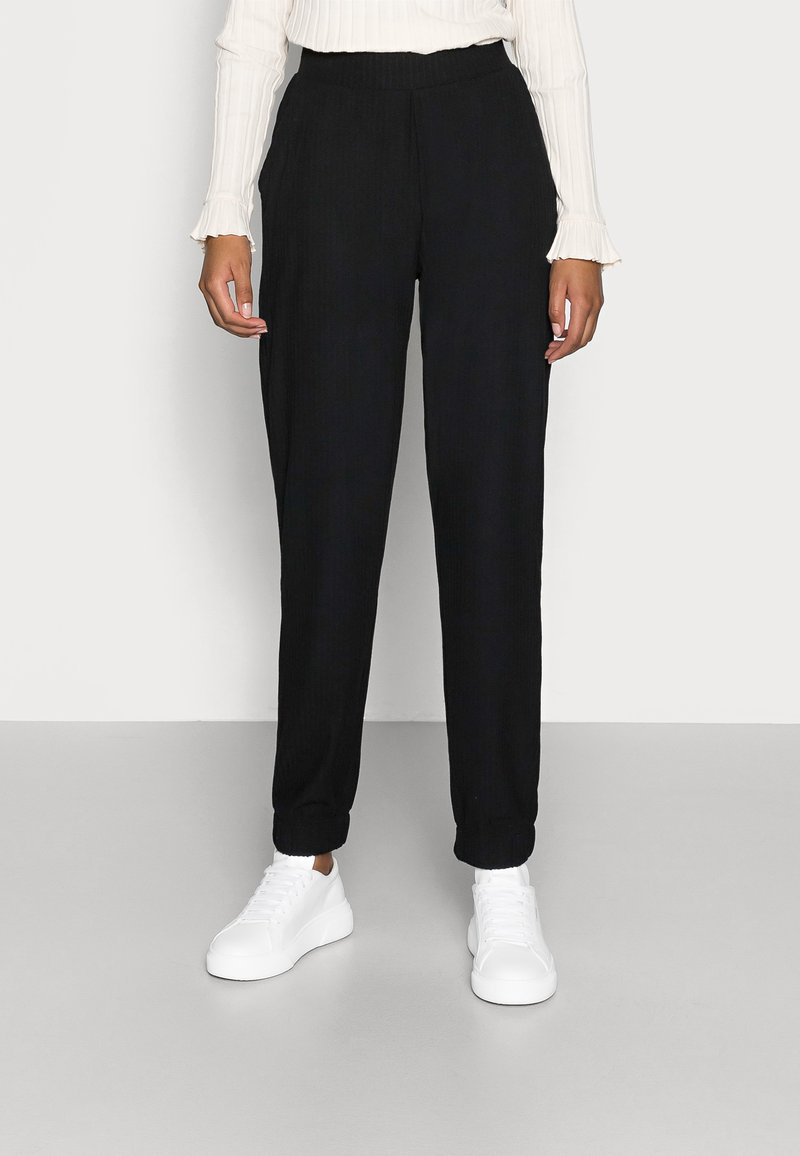 ONLY Petite - ONLNELLA PANTS - Tracksuit bottoms - black