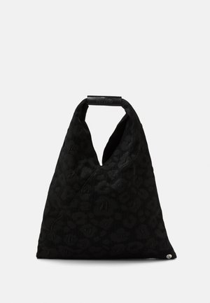 LEOPARD GIAPPONESE SMALL - Tote bag - black