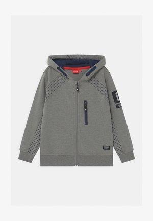 HERBER UNISEX - Zip-up hoodie - grey melange