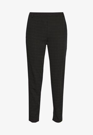 VMIMALUMAYA ANKLE PANT TALL - Trousers - black/snow white