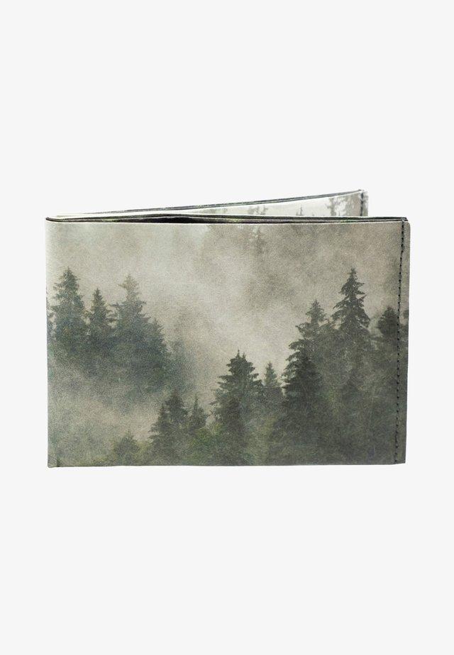 Portemonnee - grün, schwarz, grau