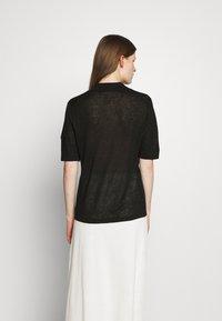 Filippa K - ANGELINE - Polo shirt - black - 2