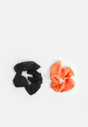 SHEER SCRUNCHIES 2 PACK - Hair styling accessory - black