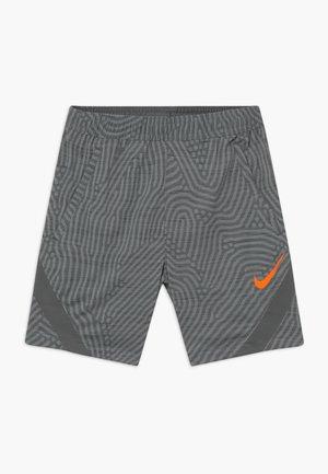 DRY STRIKE - Sportovní kraťasy - smoke grey/total orange
