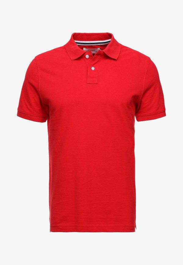 Pier One Koszulka polo - red/czerwony Odzież Męska CNFS