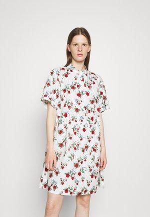 Košilové šaty - multicolor/white