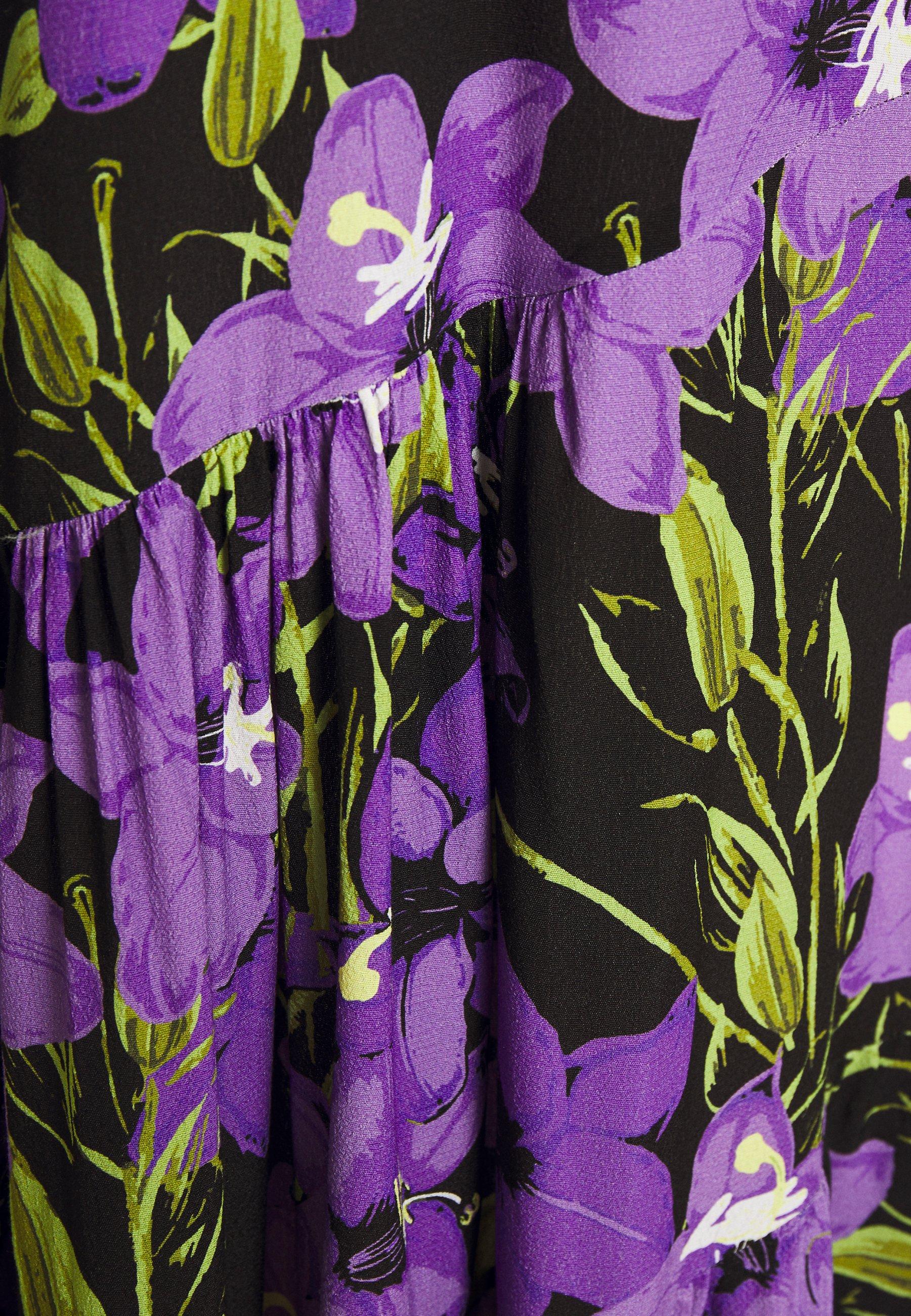 EDITED LISSI DRESS Freizeitkleid mischfarben/mehrfarbig