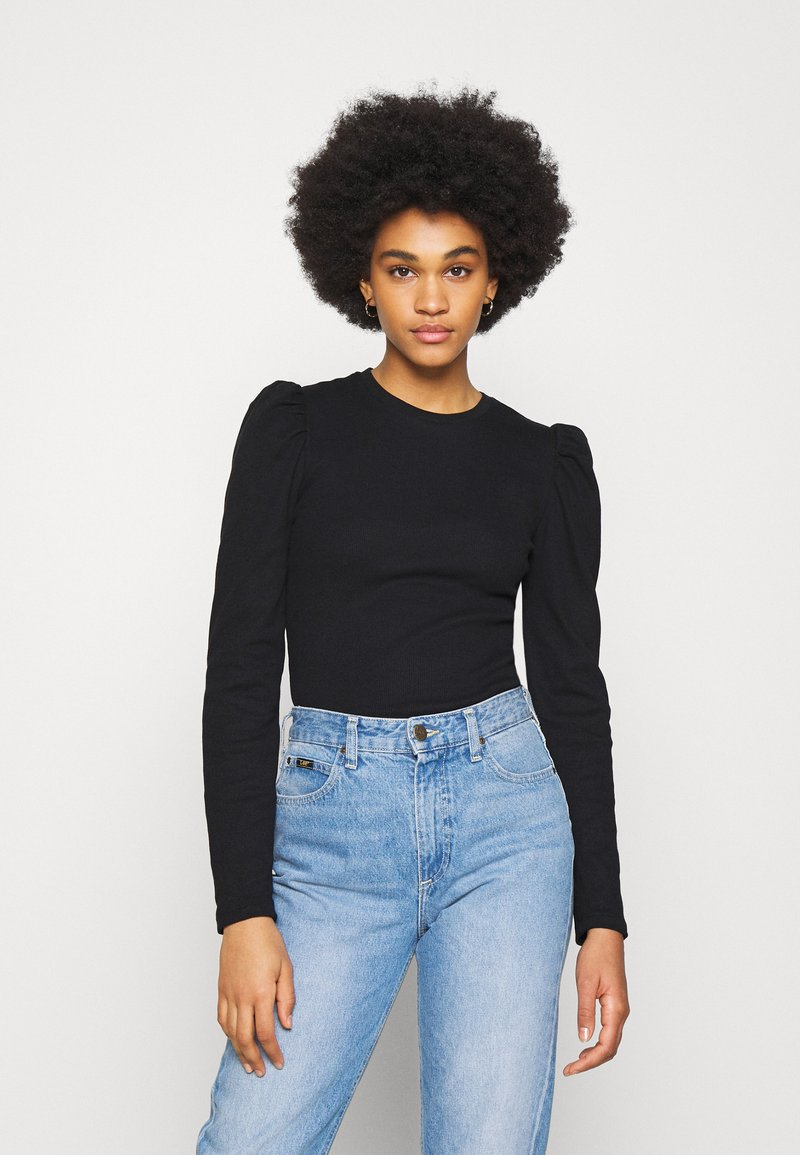 Pieces - PCANNA - Long sleeved top - black