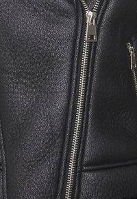 Missguided Petite - LINED AVIATOR - Winter jacket - black - 2