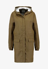 PIECES Tall - PCBOBBI RAINCOAT - Parka - beech - 4