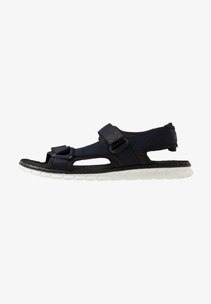 CORFU - Sandały trekkingowe - black/dark blue