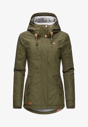 MONADE - Winter coat - olive