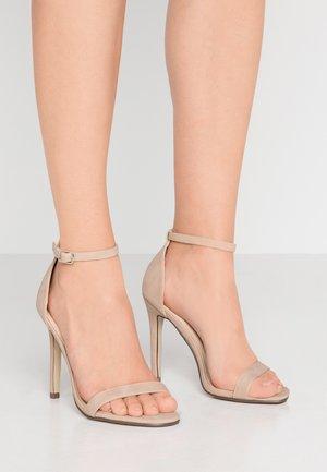 JASMINE - High heeled sandals - nude