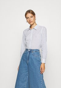Benetton - Button-down blouse - white - 0