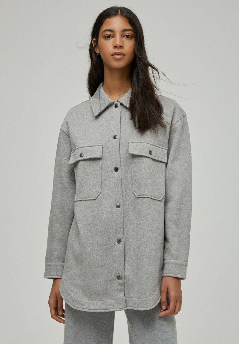 PULL&BEAR - Light jacket - grey