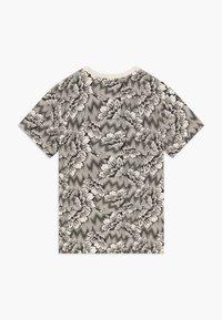 Puma - PUMA X ZALANDO TEE - T-shirt con stampa - silver birch - 1