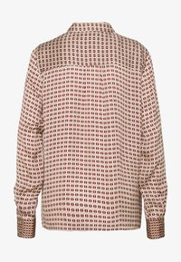 Mos Mosh - TAYLOR RETRO - Button-down blouse - biking red - 1