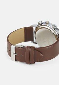Pier One - SET - Watch - dark brown - 1