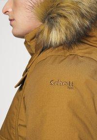 Schott - WALLS - Parka - ochrebeige - 6