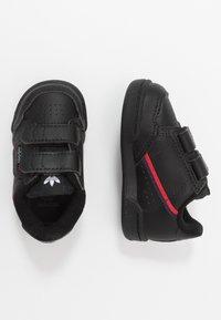 adidas Originals - CONTINENTAL 80  - Baskets basses - core black/scarlet - 0