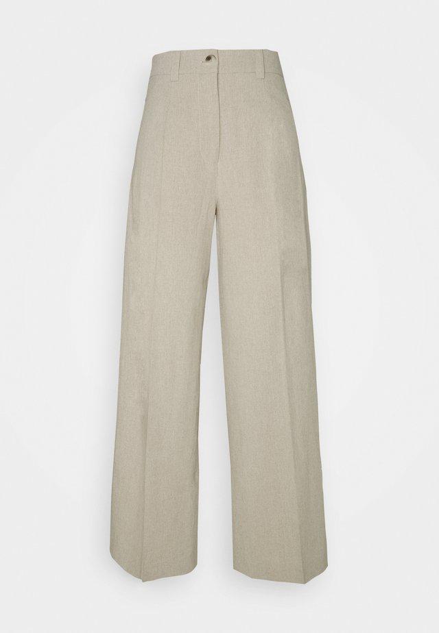 BOLETTE TROUSER - Trousers - sand