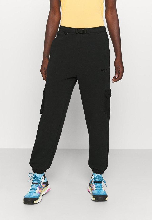 MARILYN - Pantalon classique - jet black