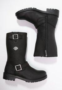 Harley Davidson - RANDY - Cowboy/Biker boots - black - 1