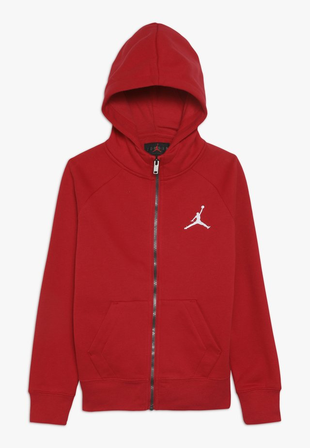 JUMPMAN FULL ZIP - Huvtröja med dragkedja - gym red