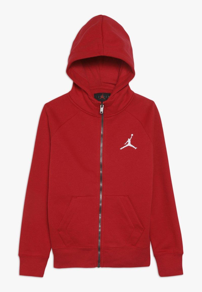 Jordan - JUMPMAN FULL ZIP - Sweat à capuche zippé - gym red
