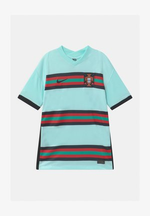 PORTUGAL UNISEX - National team wear - teal tint/black