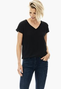 Garcia - T-shirt basique - black - 0