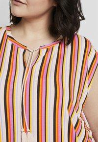 MY TRUE ME TOM TAILOR - Print T-shirt - mutlicolor stripe - 3